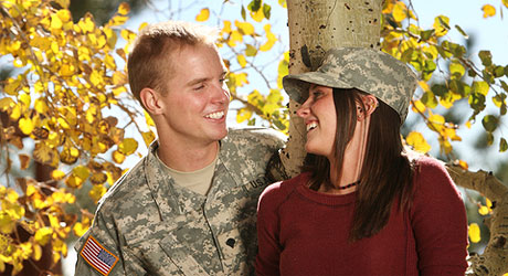 Military veteran dating